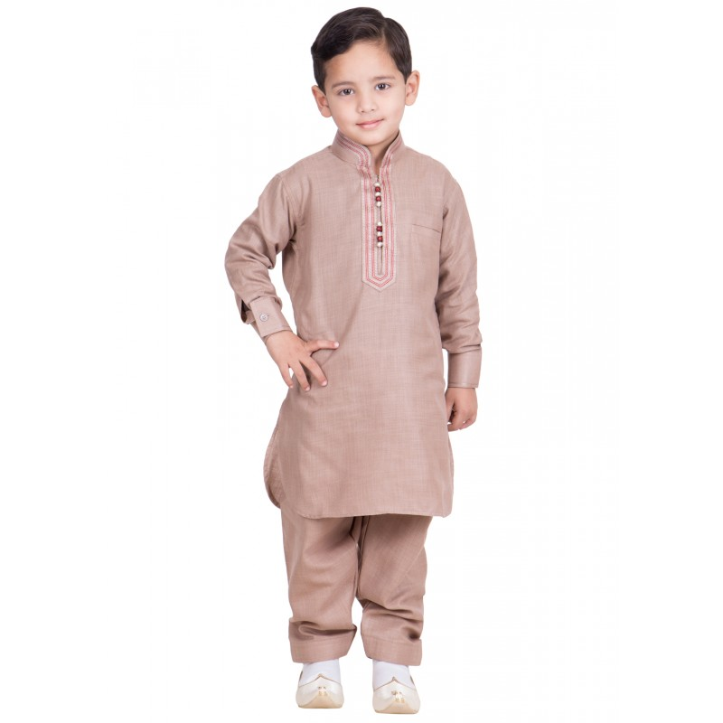 9febeab87d5f Pathani Kurta-Pajama for kids online in India- Cavern pink Colored