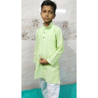 Kids Kurta Pyjama Set - Green