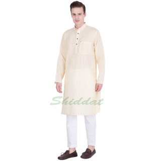 Cotton kurta pyjama set- Spring wood
