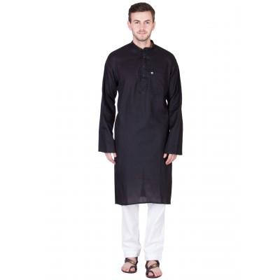 Kurta Pyjama set- Black and white