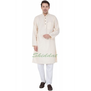 Kurta Pajama set - Cream