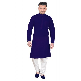 Kurta Pajama set - Royal Blue