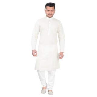 Kurta Pajama set - White