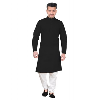 Kurta Pajama set - Black