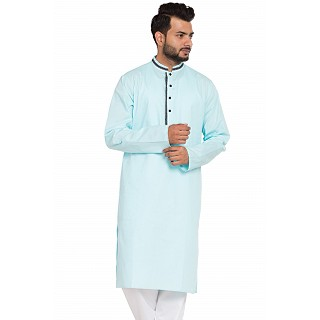 Designer kurta for men- Sky Blue