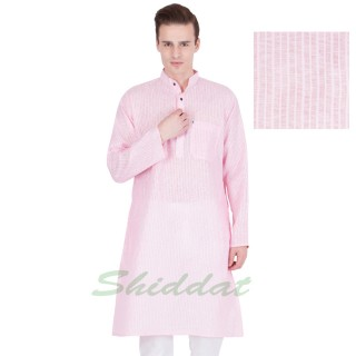 Cotton long kurta - Prim colored