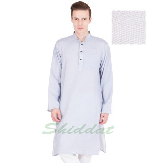 Cotton long Kurta - Mystic colored