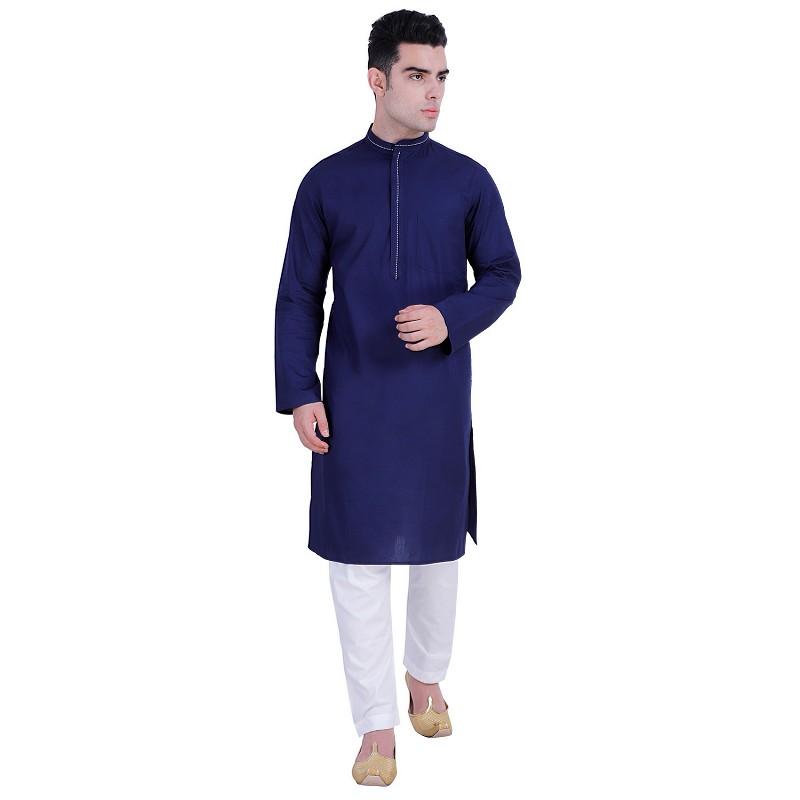 Cotton Kurta Online Buy Designer Cotton Long Kurta For