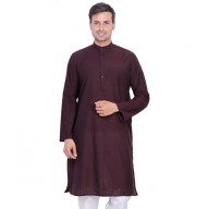 Cocoa Brown Kurta