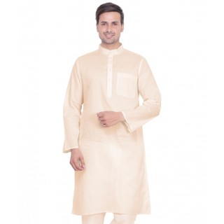 Premium cotton kurta for Men- Cream