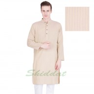 Long Kurta - Bizarre colored in cotton fabric