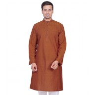 Sanguine Brown Kurta