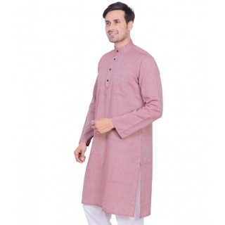 kurta for men- Turkish rose colored
