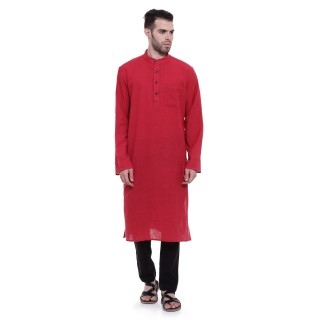 Long Kurta - Monza colored in cotton fabric
