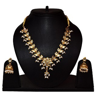 Awadhi Kundan Necklace Set