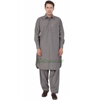 Pathani kurta for men- Dark Grey