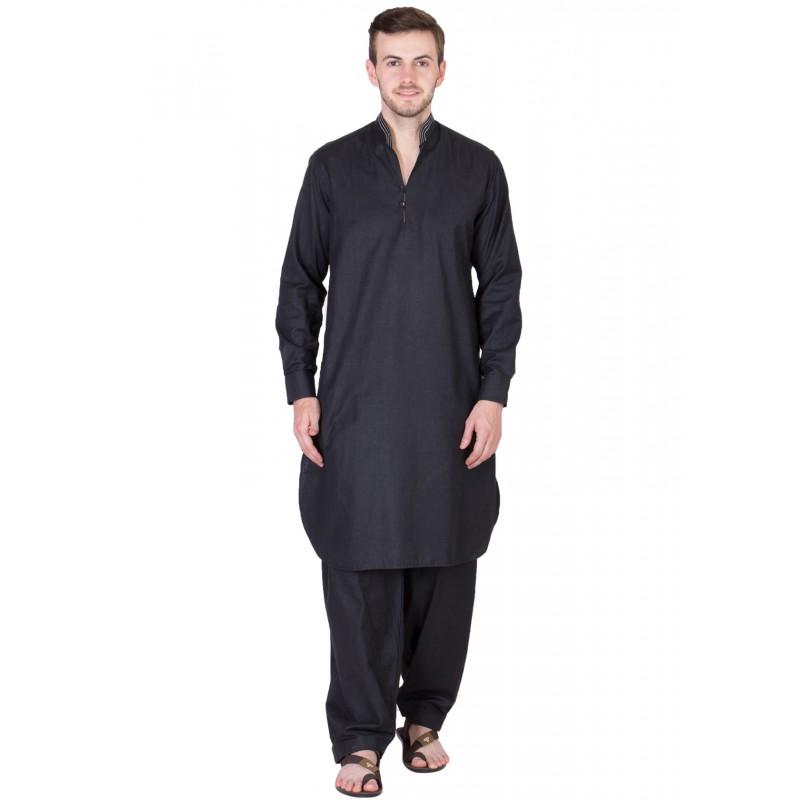Pathani Suit Buy Pathani Kurta Pajama Cotton Chinese