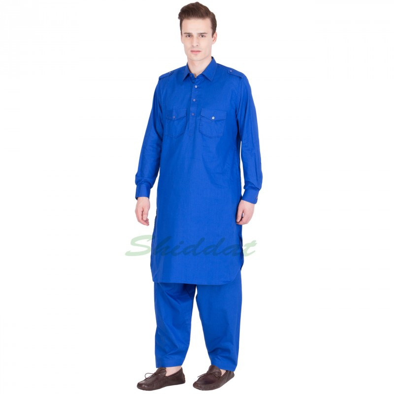 Pathani Suit Online Shopping In India Science Blue In