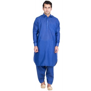 Pathani suit- Royal blue colored