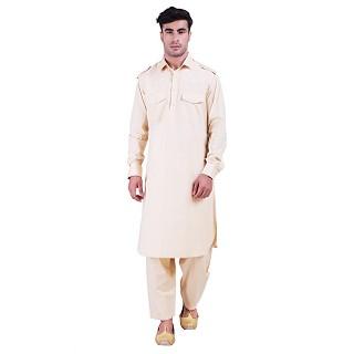 Pathani suit for men- Beige color