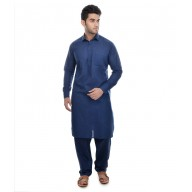 East Bay Blue Pathani Suit