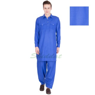 Pathani suit- Royal blue