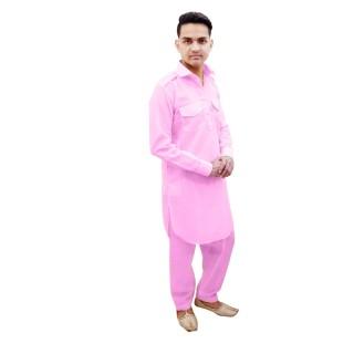 Pathani kurta - Pink Color
