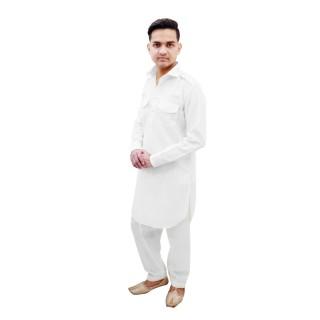Pathani suit-  White