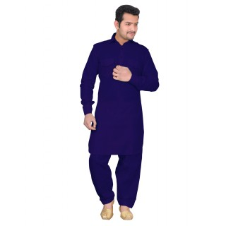 Royal Blue - Pathani Kurta