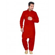 Pathani suit- Red