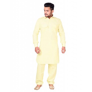 Pathani dress for men- Lime