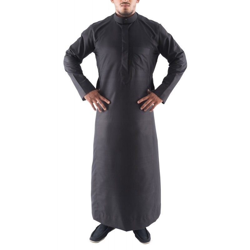 Jubbah Online Black Simple Saudithobe Online In India At