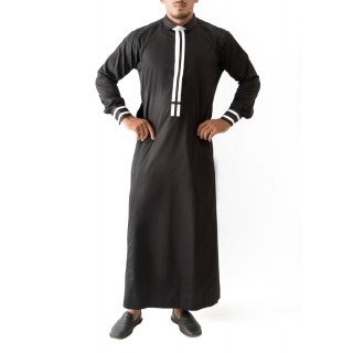 Jubbah- Black Tux
