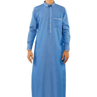 Jubbah- Caveat Blue