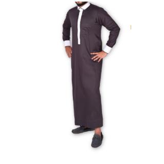 Jubbah- Grey Tux
