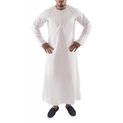 Jubbah- Pure White Emrati