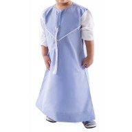 Kids & Boy's Jubbah - DR SLEEVE EMRATI SKY BLUE