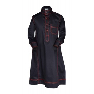 Thobes for Kids- Red Anchored Simples Saudi