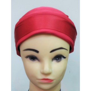 Glitter Bonnet Cap- Red