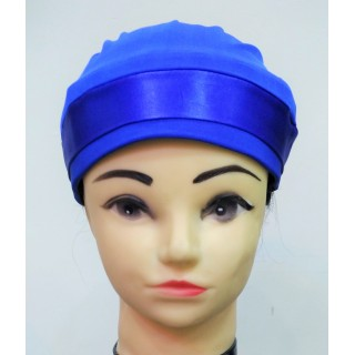 Glitter Bonnet Cap- Royal Blue