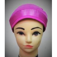 Glitter Bonnet Cap- Magenta