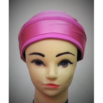 Glitter Bonnet Cap- Pink