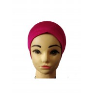 Under hijab band - Dark Pink