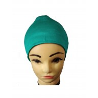 Under hijab cap - Teal Green