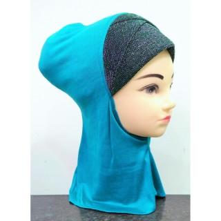 Underscarf ninja shimmer- Turquoise