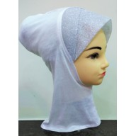 Underscarf ninja shimmer- White
