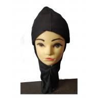 Criss cross ninja cap- Black