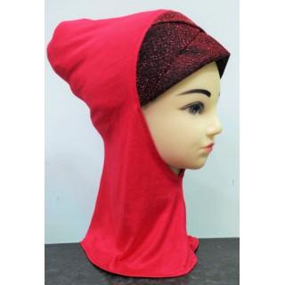 Under scarf ninja shimmer- Red