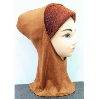 Underscarf ninja shimmer- Brown
