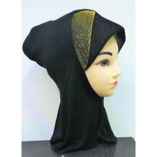 Under scarf ninja shimmer- Black